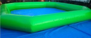 密閉式6mx6mプール(黄緑)