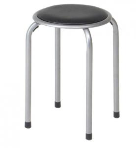 パイプ丸椅子
